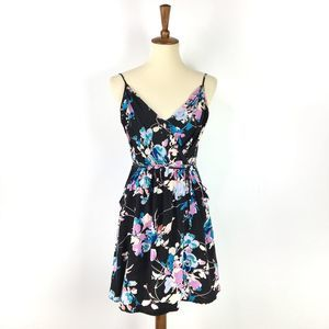 Yumi Kim Floral silk wrap dress Small